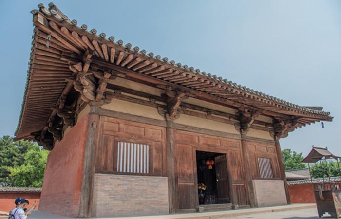 中国现存最早的木结构建筑——南禅寺