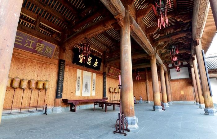 古建知识:祠堂古建筑的几种平面布局