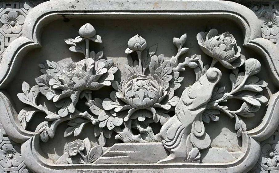 中国传统建筑砖雕工艺