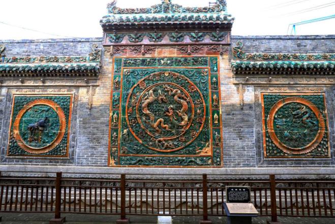古代传统建筑元素照壁