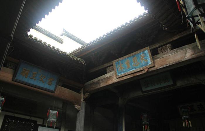 中国古建筑采光