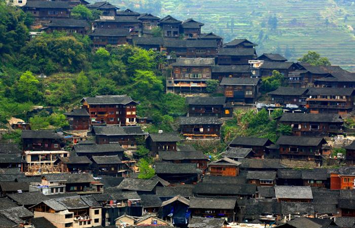 西江千户苗寨:中国传统民居,全国最大的苗寨!
