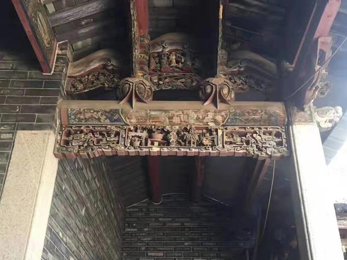 出售_广东梅州清末时期的岭南宗祠建筑图2