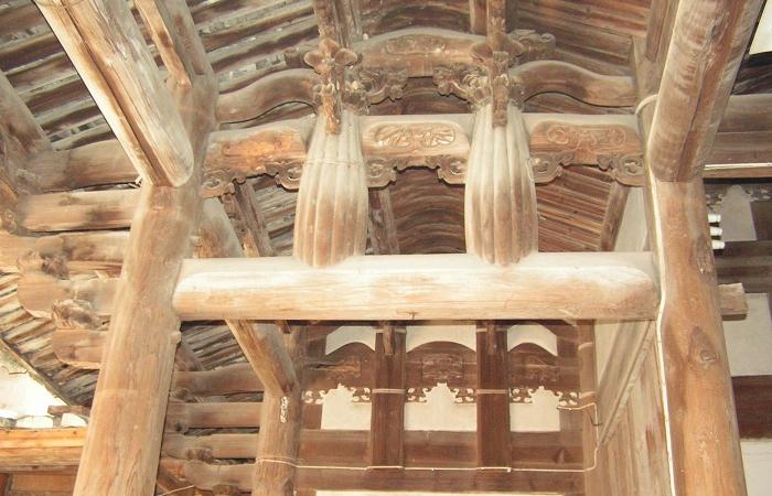 中国古建筑结构——梁的分类