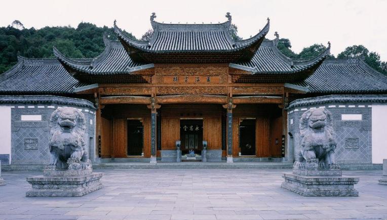 古代祠堂建筑