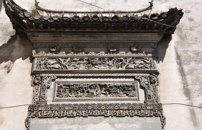 徽派建筑——高雅奢华的门罩文化