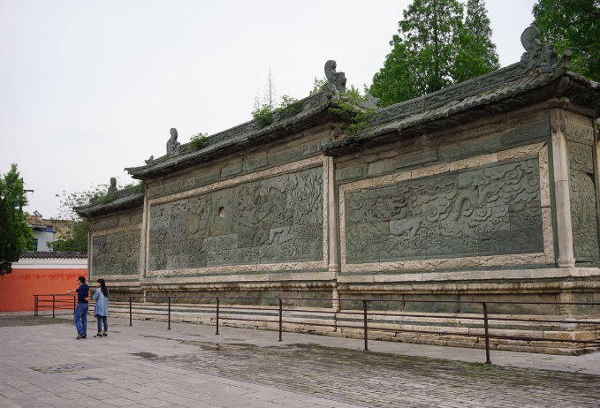 古建筑影壁