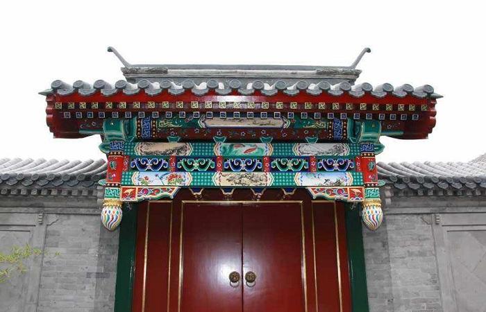 雕梁画栋垂花门——四合院中一道独特的门