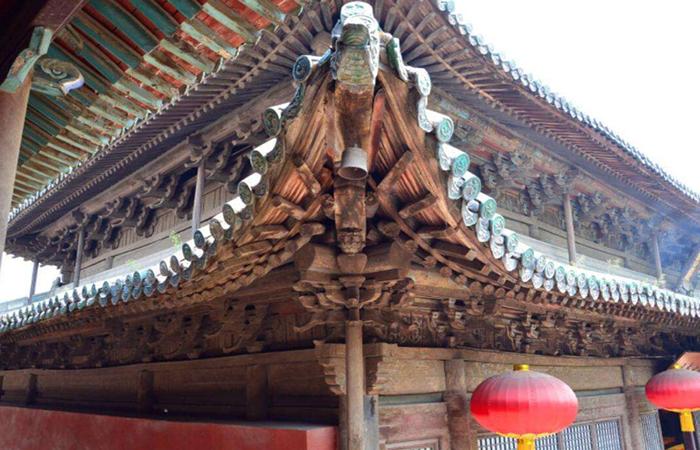 中国古建筑构件中,斗拱到底有什么作用?