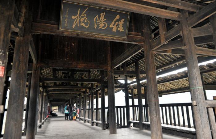 中国传统建筑风雨桥——侗族桥梁建筑艺术的结晶