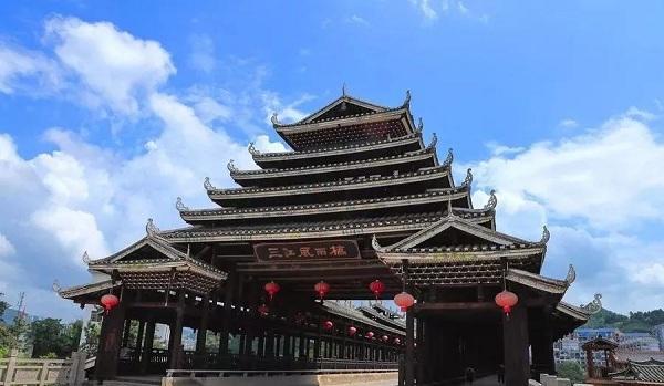 三江风雨桥