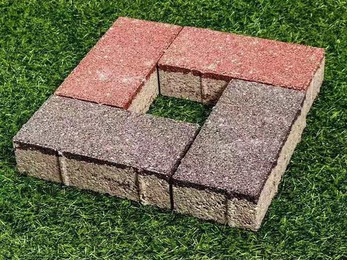 彩砖透水砖-- 广州沃格园林建筑材料有限公司
