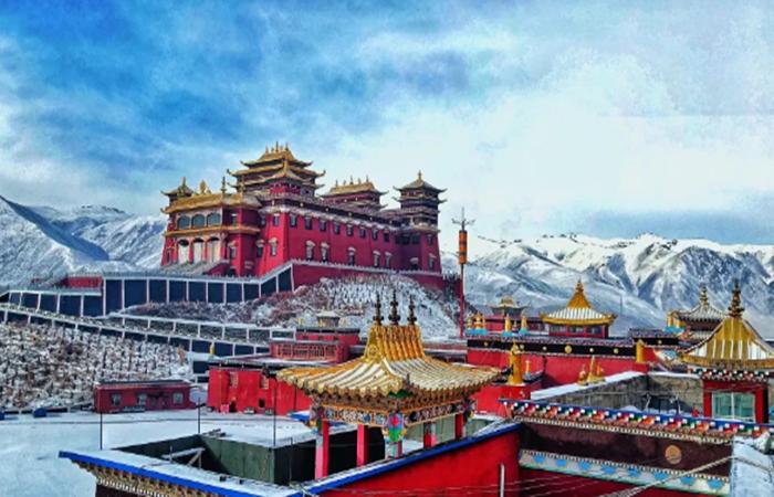 萨迦结古寺——中国藏区闻名遐迩的寺院建筑
