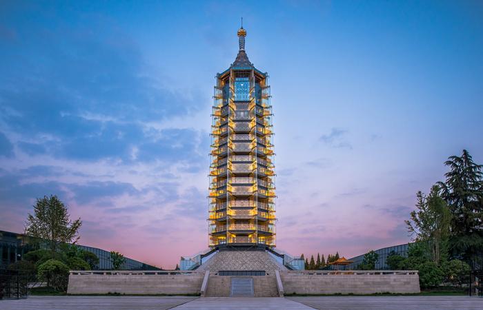 南京大报恩寺琉璃塔——世界建筑史上的奇迹