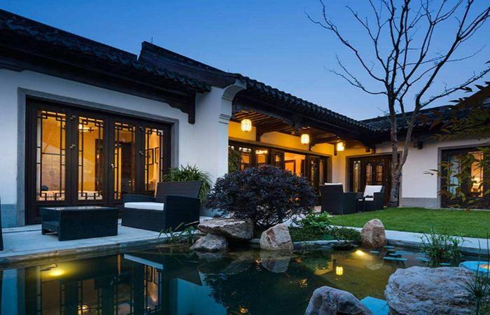中式别墅庭院景观设计的六大设计元素