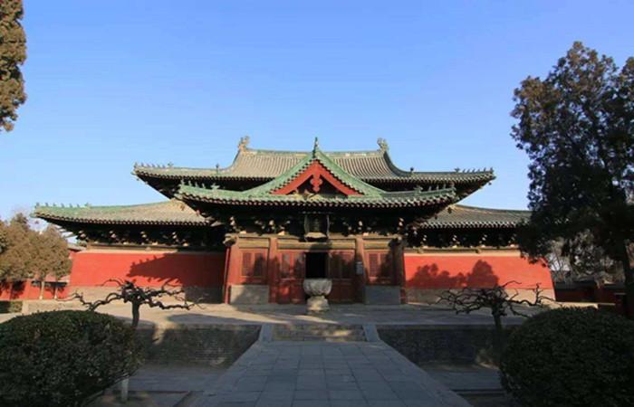 隆兴寺——国内保持较好的佛教寺院之一