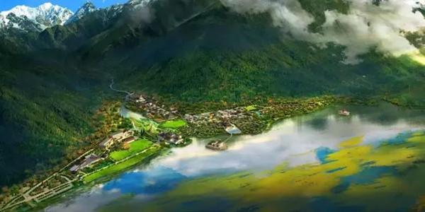 诗和远方、就在鲁朗 西藏特色小镇引八方来客
