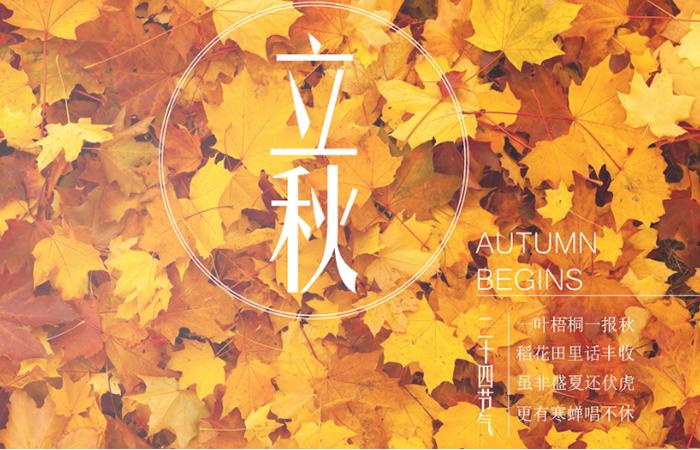 【二十四节气之立秋】一夜新凉 秋意将来