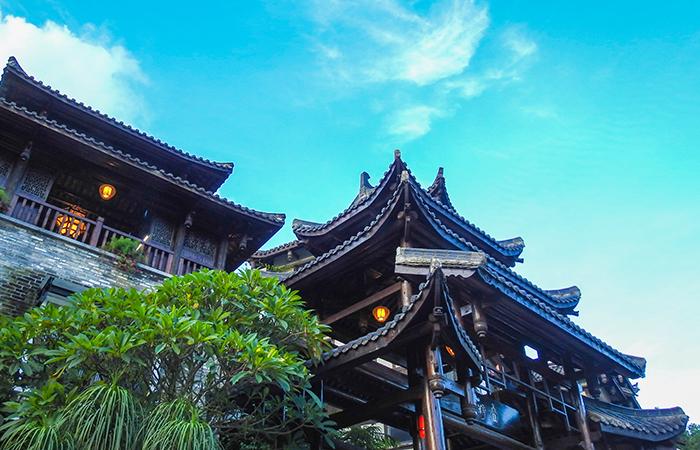 浅谈古代元气学说与中国传统建筑的关系