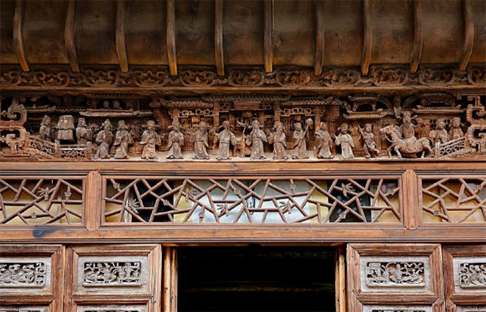古建筑装饰艺术:木雕、石雕、砖雕
