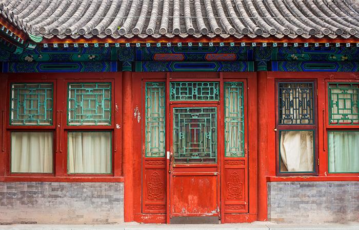 格扇门——传统建筑装饰构件