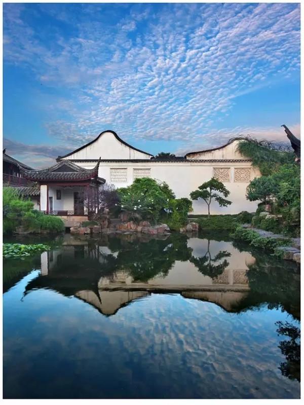 """中式庭院""""崇尚自然、师法自然"""""""