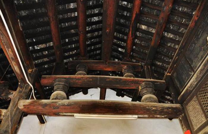 中国古建筑木构架常见的几种结构方式
