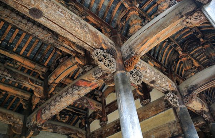 梁架:传统木结构古建筑的骨架