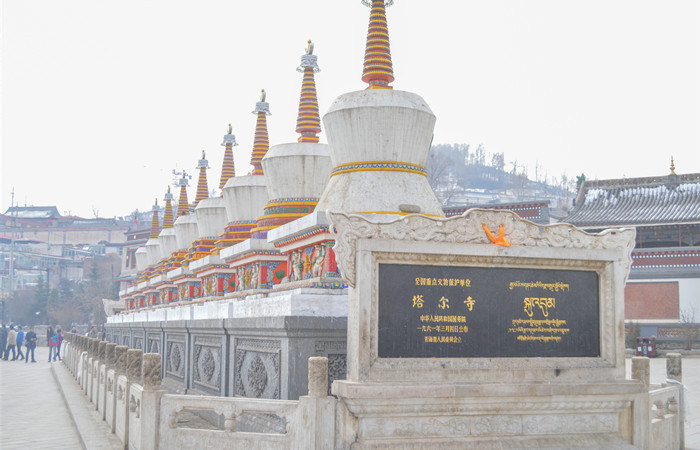 在莲花山中绽放的信仰——塔尔寺