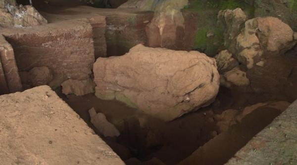 广东英德市青塘发现数万年前古人类栖居地