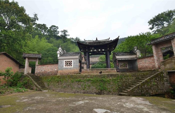 赣县白鹭村——客家第一古村