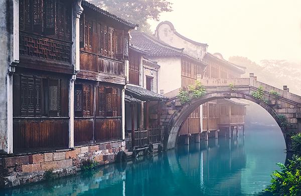 江南水乡民居