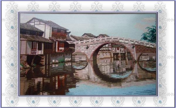 """""""三刀一针""""发祥地高桥古镇以桥得名"""