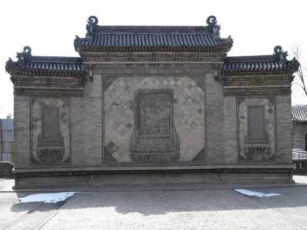 古建筑为什么开门先见墙?