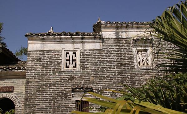 蔡氏书香古宅,中国岭南古建筑的瑰宝
