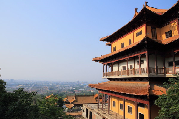 定林寺——位于南京市江宁区方山的历史古迹