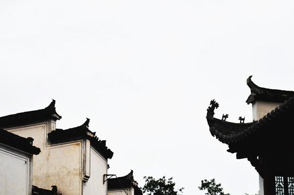 屋顶的飞檐,古人欲借此一飞冲天?