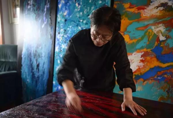 非遗漆器髹饰技艺代表性传承人——范福安