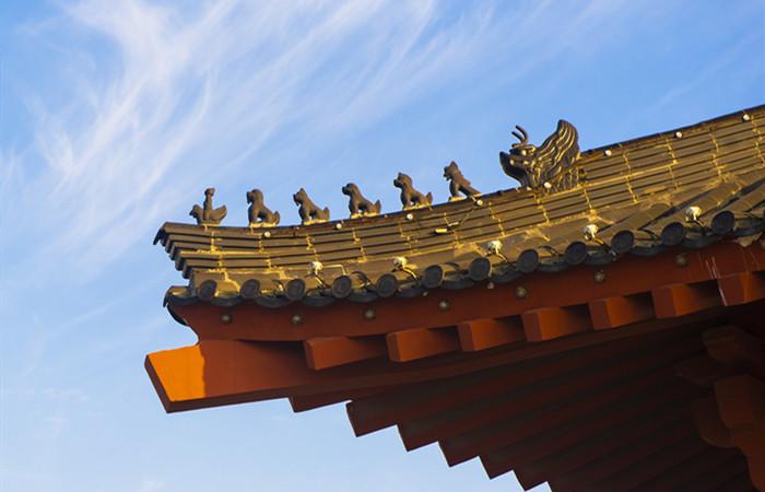 """解析中国古建筑屋脊上的那些""""神兽"""""""