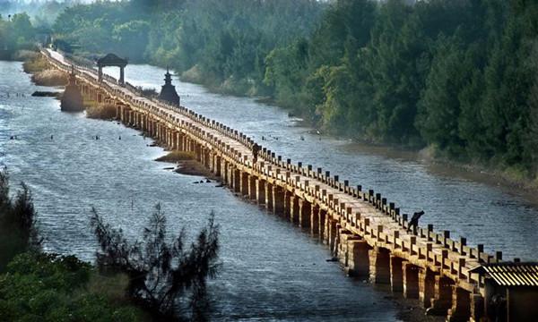 """晋江安平桥——""""天下无桥长此桥"""""""