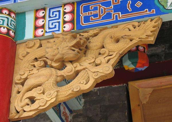"""中国古建筑特色构件之""""角替"""""""
