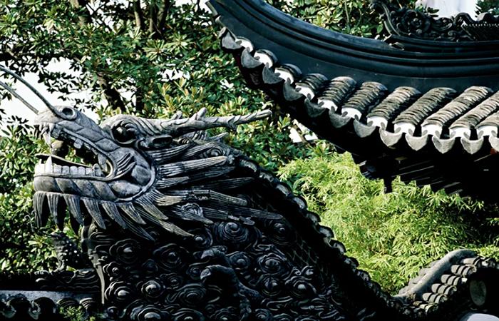 龙文化——中国传统建筑中龙的装饰艺术