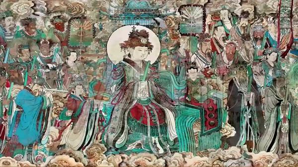 """山西永乐宫三清殿""""朝元图""""壁画详解"""