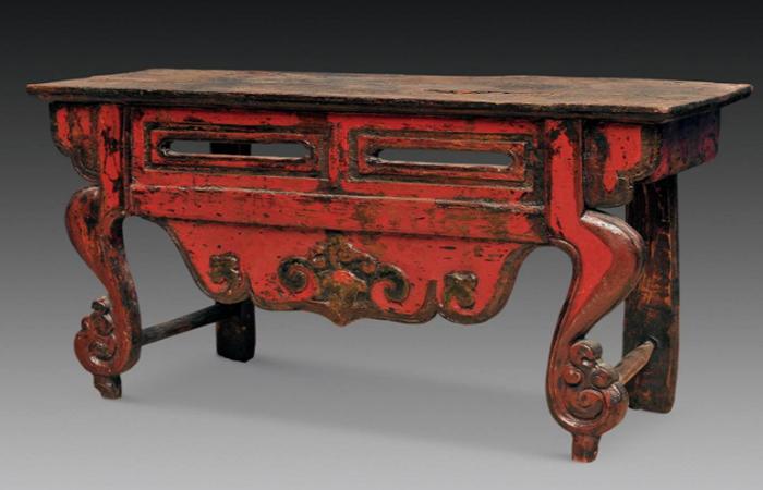 藏式家具的装饰图案以及特点