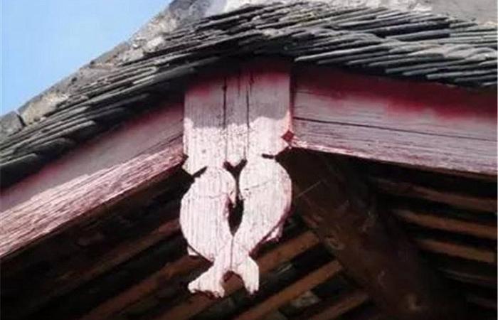中国古建筑构件——悬鱼的由来