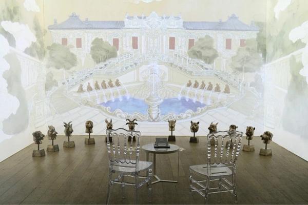 三山五园皇家园林光影艺术展上周在巴黎开幕