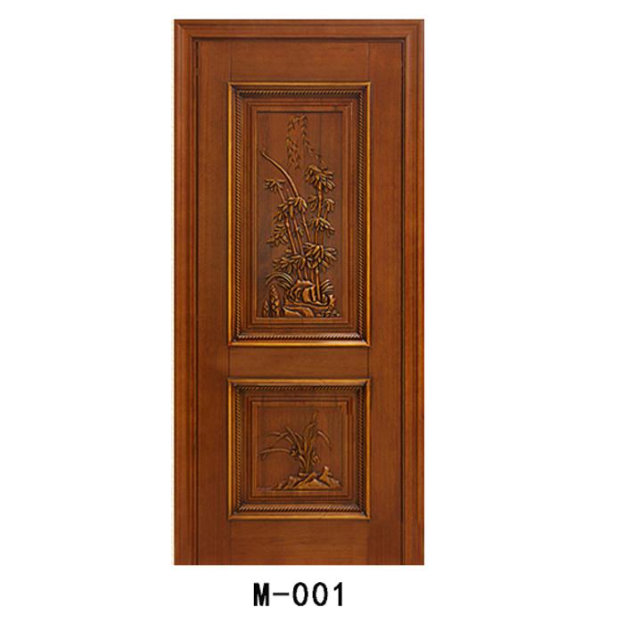 中式仿古雕花实木门(1120-4200元/平方米)--  浙江汉农建设有限公司