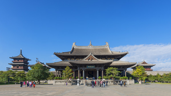 大同华严寺,一组完整的辽金寺庙建筑群