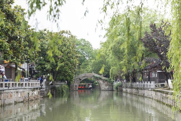 苏州城同龄的水乡古镇——木渎古镇