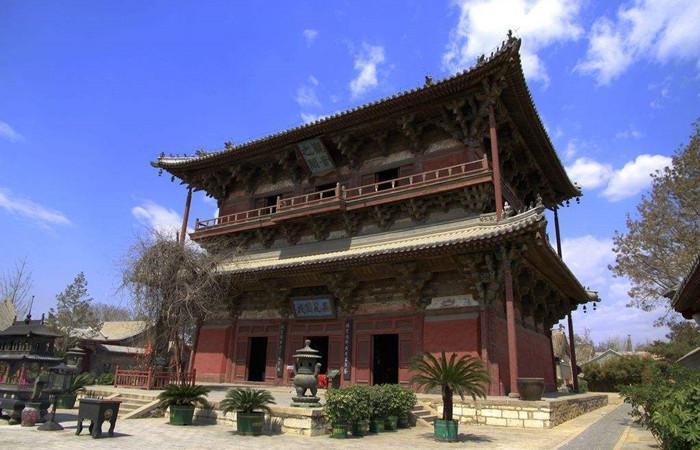 解析千年古刹独乐寺与其两座标志性建筑